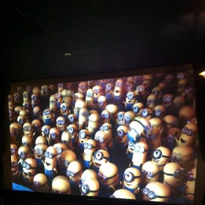 Ed sneaks into the cinema again!