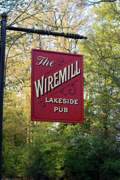 The Wiremill has a new sign
